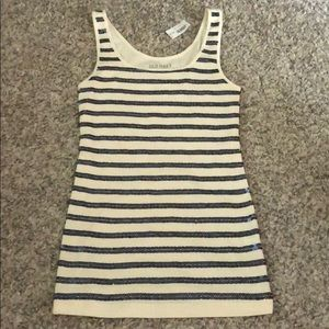 {old navy} NWT sequin striped tank